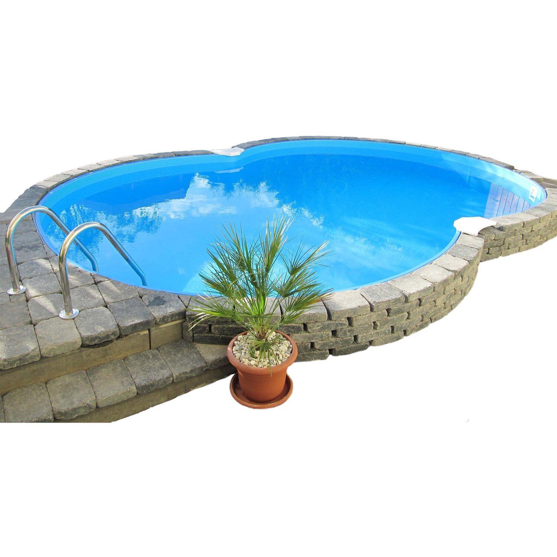Piscine Da Esterno Rivestite In Legno piscina forma 8 colorado 625x360 x120 cm | obi