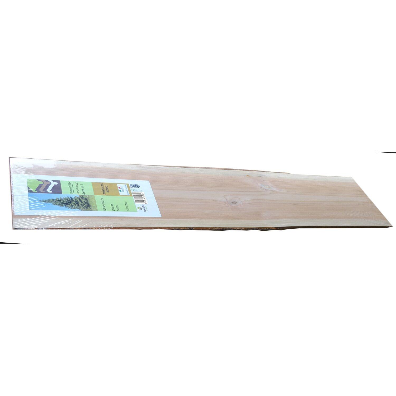 Tavola In Douglasia Pefc 200 X 30 38 Cm Con Corteccia Obi