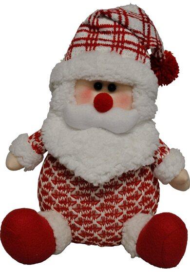 Peluche Babbo Natale 33 cm x 20 cm x 15 cm