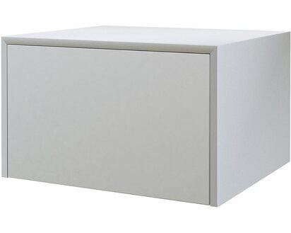 Cassettiera Profonda 30 Cm.Cassettiera Tavolone Bianco Opaco 50 Cm X 43 Cm X 30 Cm Obi