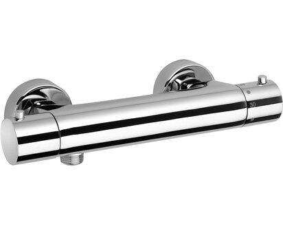 Jacuzzi Rubinetteria miscelatore doccia esterno termostatico Cilindro cromo