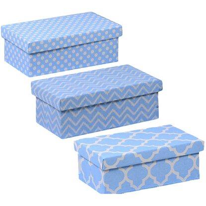 Rivestire scatole di cartone for Scatole rivestite in stoffa tutorial