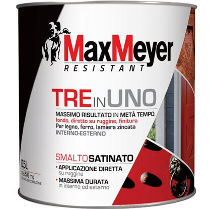 MaxMeyer smalto 3 in 1 satinato panna 0,5 l