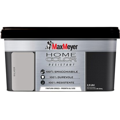 MaxMeyer home color resistant silver 2,5 l