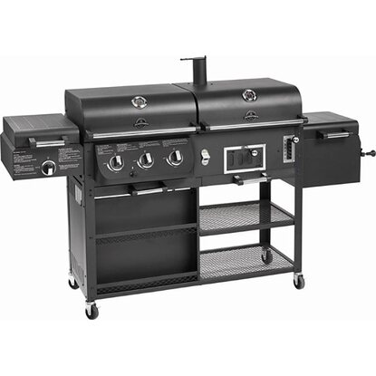 Jamestown Drake barbecue combinato con affumicatore
