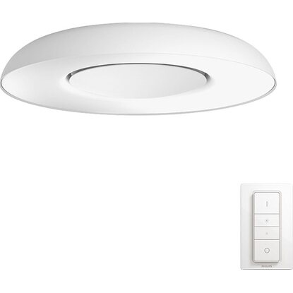Philips Hue plafoniera LED Still con telecomando Dimmer Switch