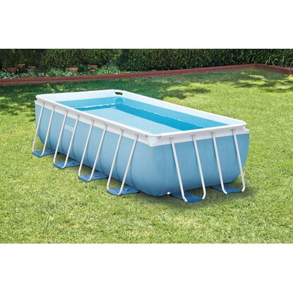 Intex piscina prisma metal frame 400 cm x 200 cm x 100 cm for Intex piscine catalogo