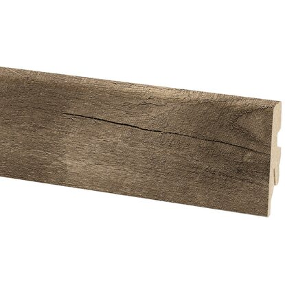 Battiscopa per laminato Bark 60 mm x 20 mm lunghezza 2600 mm