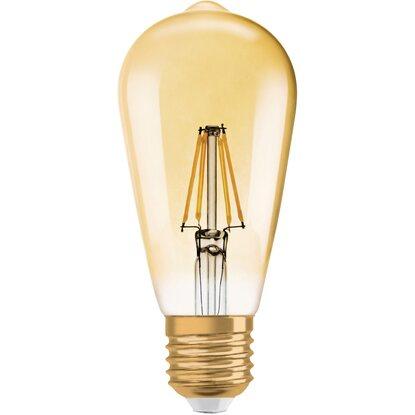 1906 Edison Lampadina Led Vintage 34w Calda Osram Luce f6vY7gyb