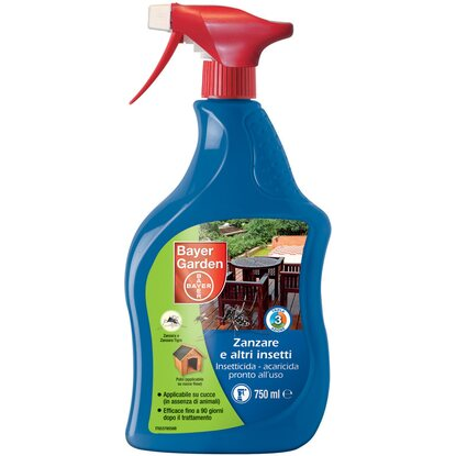Bayer Garden insetticida universale pronto all`uso 750 ml