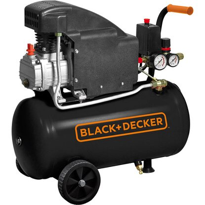 BLACK+DECKER compressore coassiale lubrificato 1,5 Hp