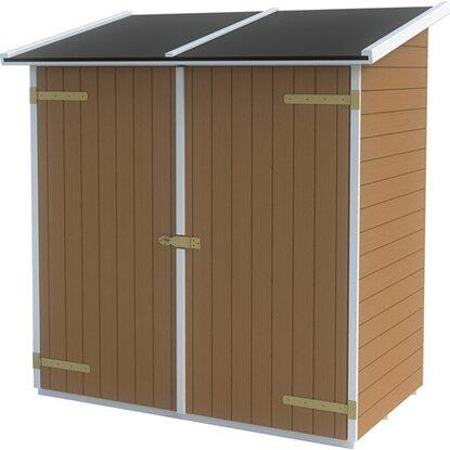 Casetta lerici color noce acquista da obi for Obi casette in legno