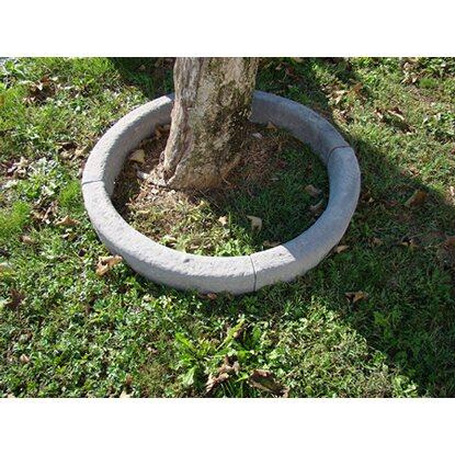 Cordolo classico curvo in pietra ricostruita grigio for Zoccolini in pietra