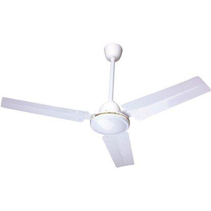Ventilatore da soffitto metal 3 pale 120 cm acquista da obi for Ventilatore a pale da soffitto silenzioso