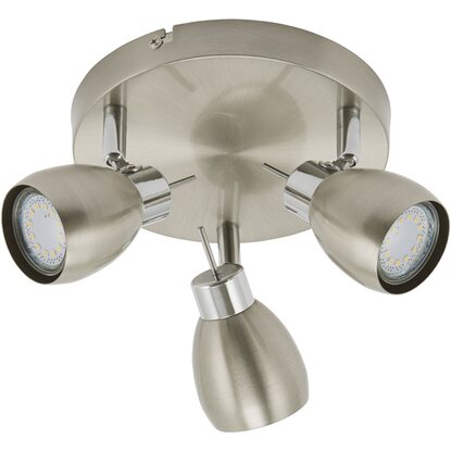 Plafoniera Two a 3 faretti spot LED