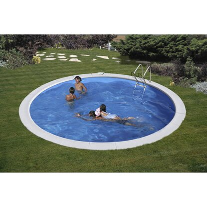 Piscina tonda interrata Ø 420 cm x 150 cm kit completo