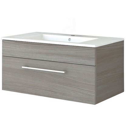 Base Supersmart con lavabo olmo