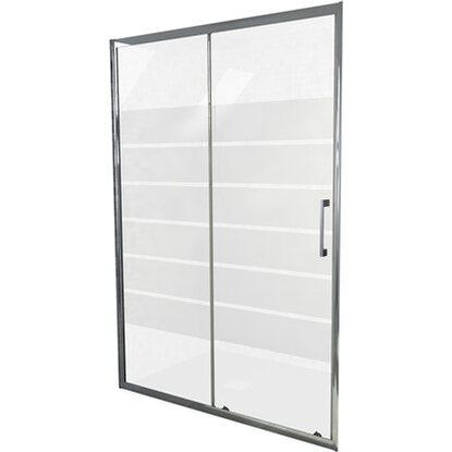 Porta scorrevole per doccia milano 120 cm x 195 cm for Box doccia obi