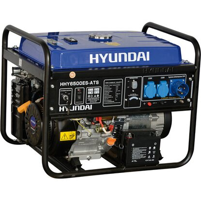 hyundai generatore di corrente benzina 5 5 kw con
