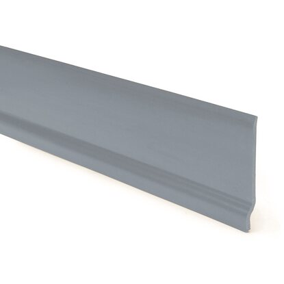 Battiscopa in pvc grigio 7 cm