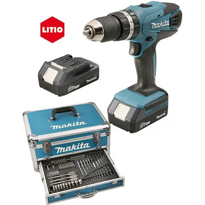 Makita trapano batteria kit con accessori