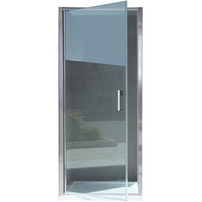 Porta battente doccia orchestra vetro trasparente cromo 67 cm 71 cm acquista da obi - Box doccia vetrocemento ...