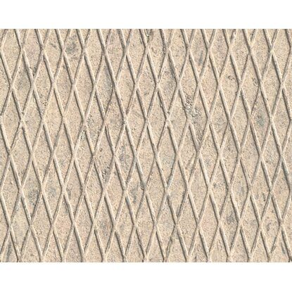 Carta da parati vinilica reticolato beige acquista da obi for Carta vinilica