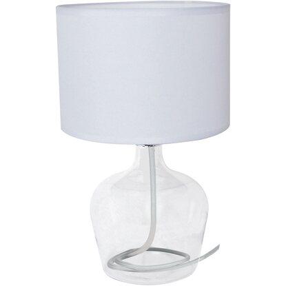 Luce Lumetto Bianco Design Ambiente In Vetro Tessuto Paralume Hendrix YbmfgyvI76