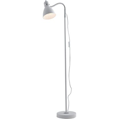 Piantana Orientabile Bianco Luce Diffusore People In Ambiente Metallo Design cL43Aq5RSj
