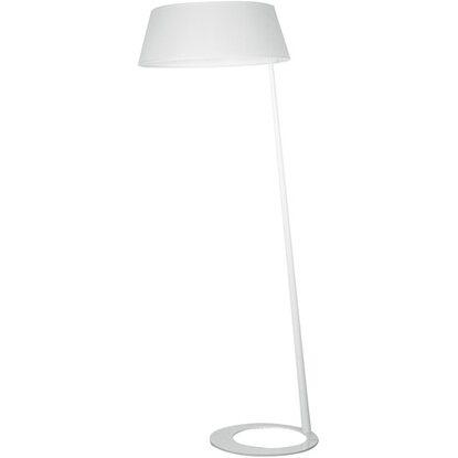 Ambiente Piantana Design Queen Tessuto Bianco Luce E Metallo hCsQdrt
