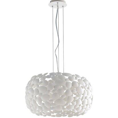 In Ambiente Ø Bianco Dioniso 3 Luci Luce Cm 48 Design Sospensione Metallo OTuXZiwPk