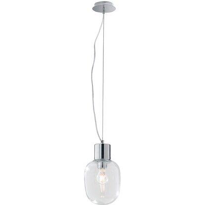 Luce Design Sospensione Cm A Ø Trasparente Lampada 18 Vetro Ambiente Fellini CWrBxdoe