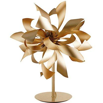 Luci Oro Satinato Metallo 4 Luce Bloom Lume In Ambiente Design JclKT1F