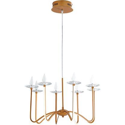 Ambiente Sinatra In Sospensione Bobeche Luce Cristallo Led Design Alluminio KFJl1c