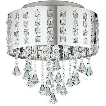 Con Ambiente In Innuendo Cristalli Plafoniera Design Metallo Luce shrCxdQt