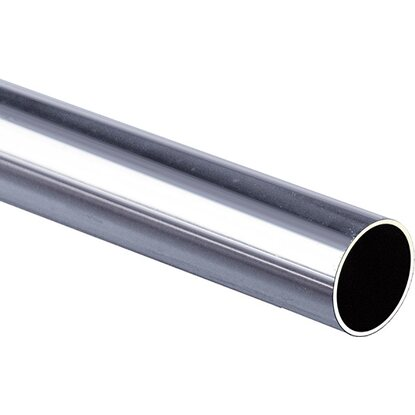 Tubo in acciaio cromato 1 mt acquista da obi - Casa in acciaio prezzo ...