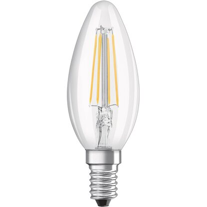Bianco Vetro Pz A Tutto Osram Candela E14 Lampada Led 3 Filamento Caldo Forma EDIW2H9
