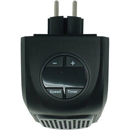 Stufa elettrica portatile handy heater regolabile ed a for Stufe alogene a basso consumo