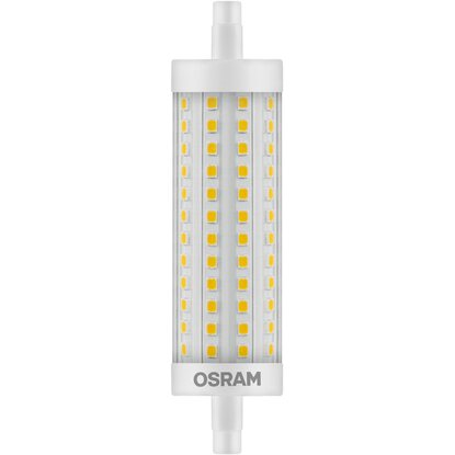 Luce W Lampadina Mm Led 12 5 Lineare R7s 118 Calda Osram k0wP8On
