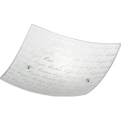 Plafoniera Vetro Quadrata 30 In X Trio Poesia Cm Nn08XwOPk