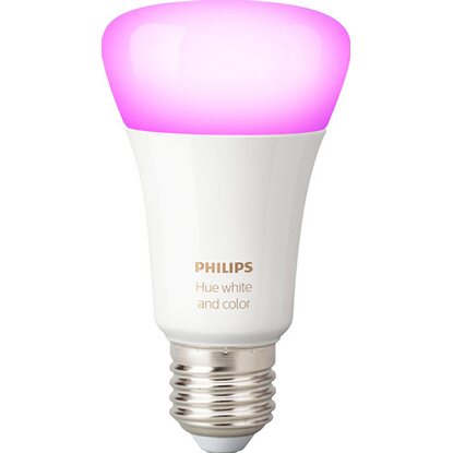 Philips Hue lampadina singola White and color E27