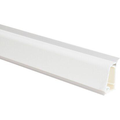Alzatina in alluminio rivestita bianca 3 m   OBI