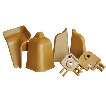 Accessori per alzatina rettangolare marrone | OBI