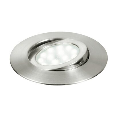Intec incasso LED integrato 5W movibile nichel