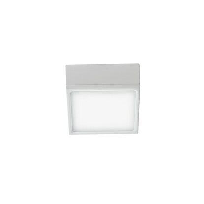 Plafoniera Klio Intec Quadrata Led 16w Bianco Faro Integrato 8nPOkXw0