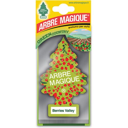 Arbre Magique Deodorante auto serie Grenn Country essenza Berries Valley