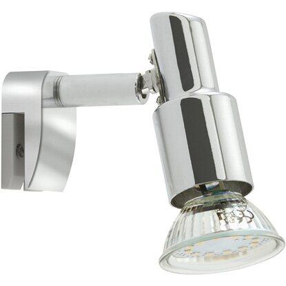 faretto spot per specchio led lampadina inclusa acquista da obi. Black Bedroom Furniture Sets. Home Design Ideas