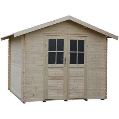 Casetta blockhouse milly in legno acquista da obi for Casette legno obi