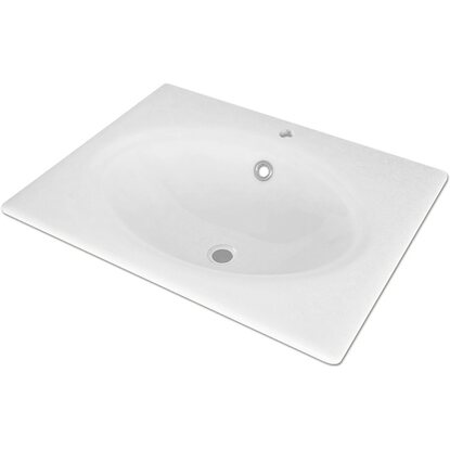 Lavabo integrale British 61x46 cm