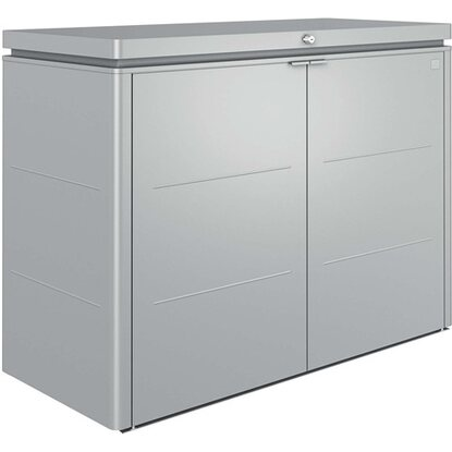 Biohort Highboard 160 argento metallizzato